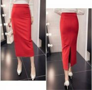 Midi Pencil Skirt YK