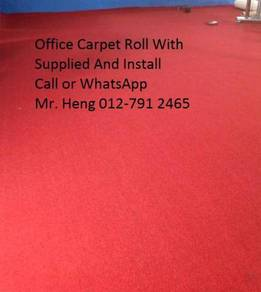 Simple Plain Carpet Roll With Install gjygi