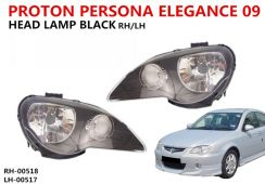 Persona Elegance 09 Head Lamp Black SMOKE Gen2