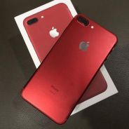 Iphone 7 plus red limited edition 128gb myset