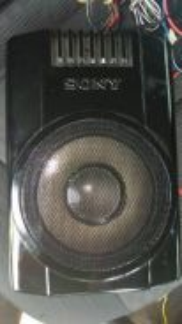 Sony speaker Underseat