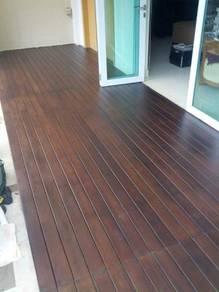 Lantai kayu timber deck