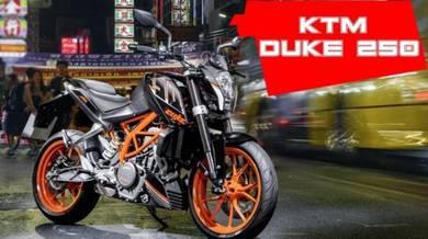 KTM Duke 250 Promo Raya