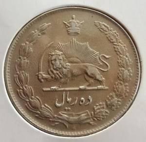 Iran 10 Rial 1336 (1957 M)