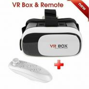VR BOX with Bluetooth remote video glasses