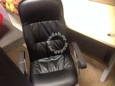 High Back Quality Comforta PU Leather Swivel Chair