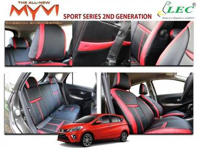 MYVI 2018 NEW LEC Seat Cover Sport Series (ALL IN)