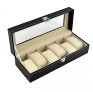 Watch Storage Box Aluminium/PU Leather (29)