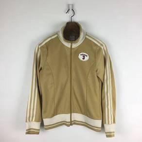 Adidas traning jacket brown 001