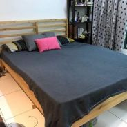Used bed frame and mattress for sale