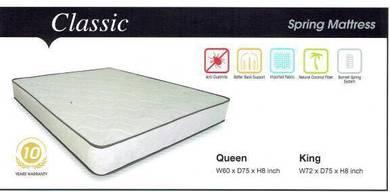 Queen size Spring Mattress (V-classic)26/09