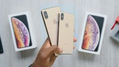 IPhone XS Max 256GB Gold Ready Stock New Set MY