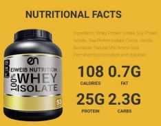 Whey Protein Isolate, 82% protein by weight, N9