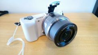 SONY camera a5000