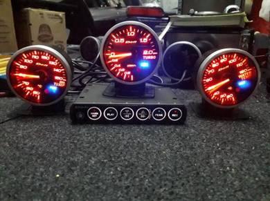 Meter defi bf pakej turbo