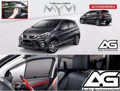 Perodua Myvi 2017 OEM Sun shades magnet OFFER