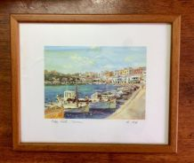 Vintage Water Colour Painting UK