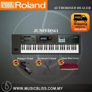 Roland JUNO-DS61 61-Keys Synthesizer (JUNO DS61)