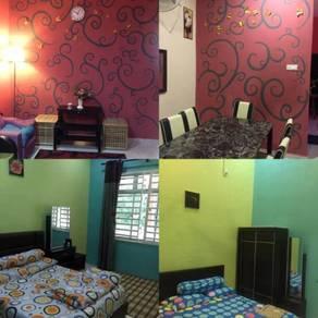 Guesthouse/homestay kuantan berserah 4room3aircond