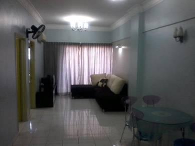 Serdang raya plaza apartment, fully furnished, seri kembangan