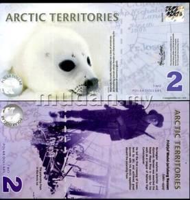 Arctic territories 2 2010 polymer p new polar unc