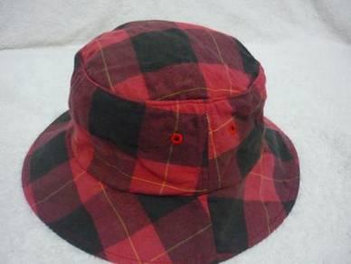 Vintage MK Klein+ Homme Bucket Round Hat Cap