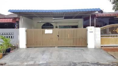Rumah Setingkat Baru Ubahsuai&dibesarkan di Klebang restu, ipoh