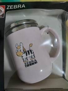 Authentic Zebra double wall mug
