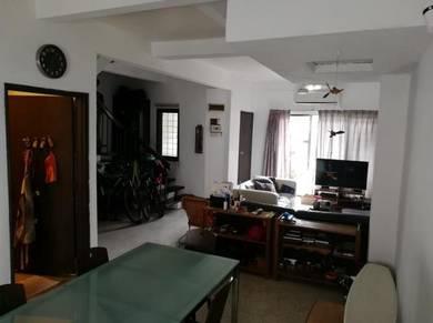 Double Storey Terrace, Taman Setiawangsa Near School and Giant