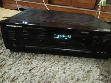 Marantz amplifier dan 2 quayle front speaker