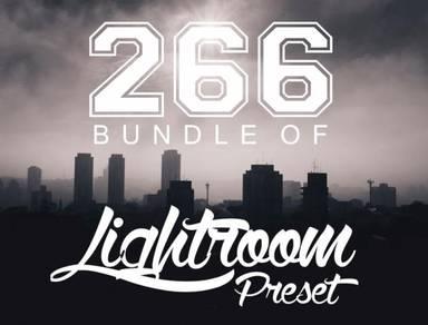 PRESET LIGHTROOM (266 pcs BUNDLE preset)