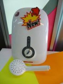 New JOVEN instant Shower Heater BLK