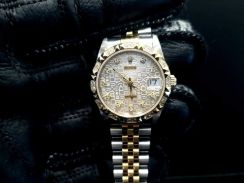 PREOWNED ROLEX Datejust, 68273G, Rolesor, Oysterst