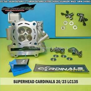 Superhead lc135 dan y15zr