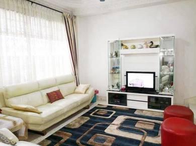Full Loan Taman Perling Double Storey Intermedeate Renovation Unit JB