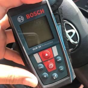 Bosch digital measure tape ukur digital