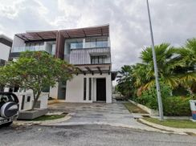 New 3 Storey Semi-D at The Mansion, Perdana Lake View, Cyberjaya