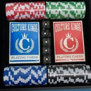 Culture Kings RARE collection item( Poker Set )