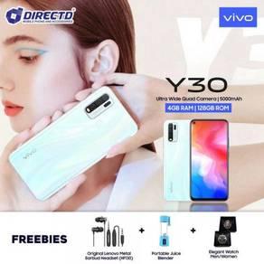 VIVO Y30 (4 KAMERA BLKG/128GB ROM/5K BATT)MYset