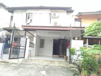 2 storey taman segambut damai, kl | freehold | partially furnished