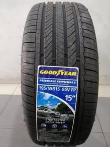 Goodyear New Tayar tyre tire Baru 195-55-15