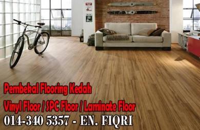 Lantai corak kayu vinyl, Lantai SPC % laminated