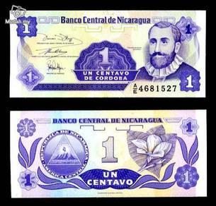Nicaragua 1 centavo p 167 unc
