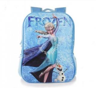 Style Charming FROZEN School Bag 3D 060302