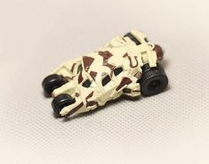 Takara Tomy Japan Metal Batmobile Camouflage 5.5cm