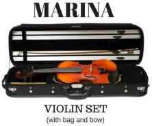 Violin Marina Set with case and bow