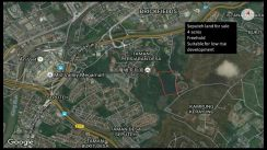 Seputeh 4 acres freehold land behind Bandar Malaysia TRX Exchange