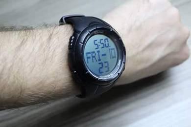 Jam tangan 3D PEDOMETER ORIGINAL MOVEMENT