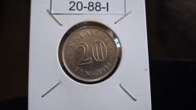 Coin Ori Luster - 20sen 1988 - I