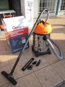 Quasa 1000W 30L Industrial Wet&Dry Vacuum Cleaner